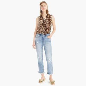 JCREW Slim Boyfriend Cropped Jeans